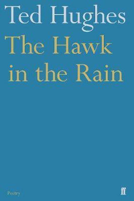 Boek cover The Hawk in the Rain van Ted Hughes (Paperback)