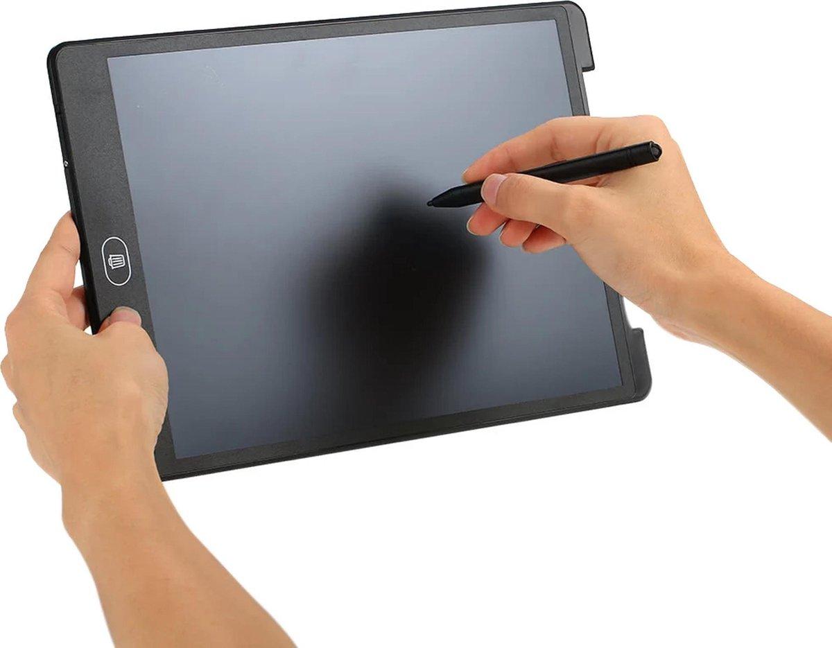 Platinet PWT12B Digitaal tekentablet en notitiebord - LCD writing tablet 12 inch en muismat zwart