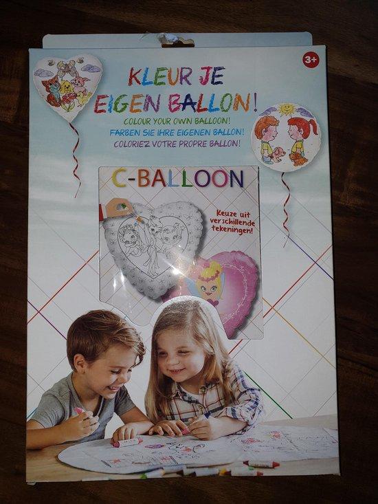 DIY pakket versier je ballon elf princes