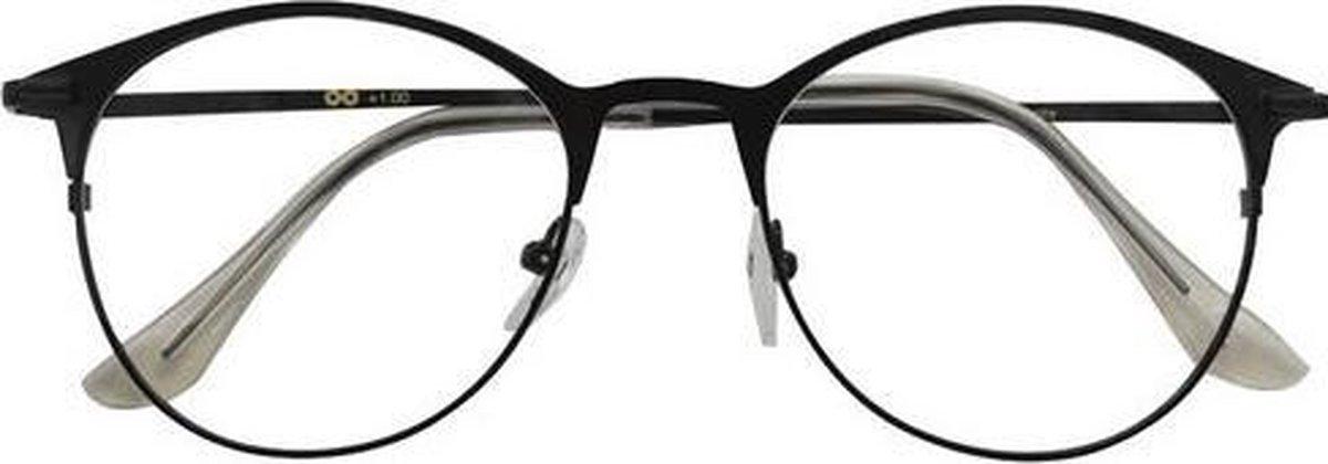 Croon Leesbril Janis Dames Zwart Sterkte +1.50 kopen