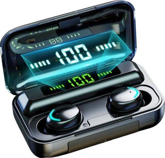 Draadloze Oordopjes - Bluetooth Oortjes - Draadloze Bluetooth Oortjes - Earbuds - Oortjes - Alternatief Airpods & Galaxy Buds - Zwart