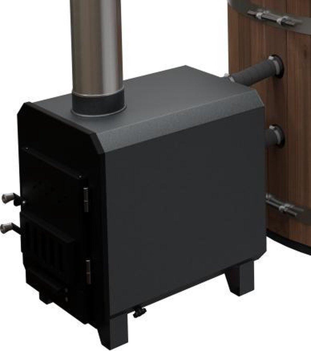 Externe hottub kachel 45 kW