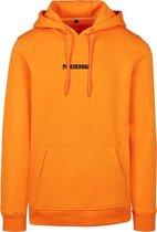 Orange heavy hoodie
