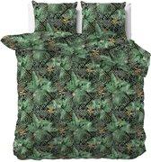 Sleeptime Botanical Mosaic - Dekbedovertrekset - Tweepersoons - 200x200/220 + 2 kussenslopen 60x70 - Groen