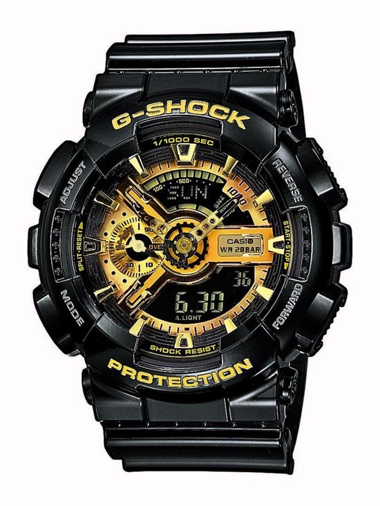 Casio G-Shock Heren Horloge GA-110GB-1AER - 52 mm