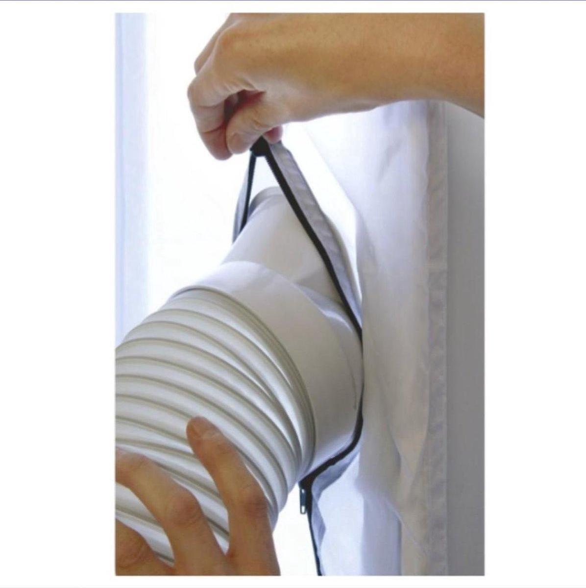 Universele Raamafdichting set voor Mobiele Airco - Airlock - Ook tegen insecten - deur of raam tot 4