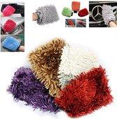 Doodadeals Microvezel Handschoen   3 Stuks   Auto Handschoen   Schoonmaak Handschoen   Auto Washandschoen    Verschillende kleuren