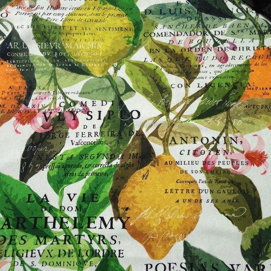 Tafelkleed 100 x 100 Citrus garden - 100% katoen