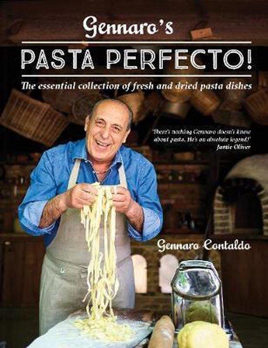 Boek cover Gennaros Pasta Perfecto! van Gennaro Contaldo (Hardcover)
