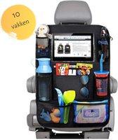 Autostoel Organiser met Tablet Houder - Auto Organiser - Auto Stoel Organizer - Tablet Houder