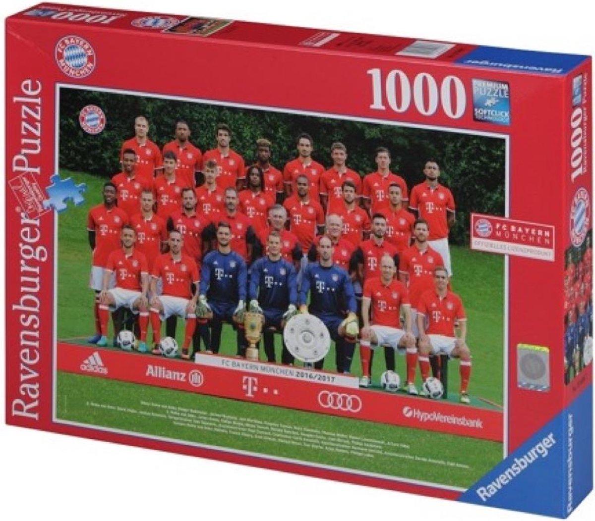 Bayern Munchen Team Puzzel 16/17 – 1000 stuks