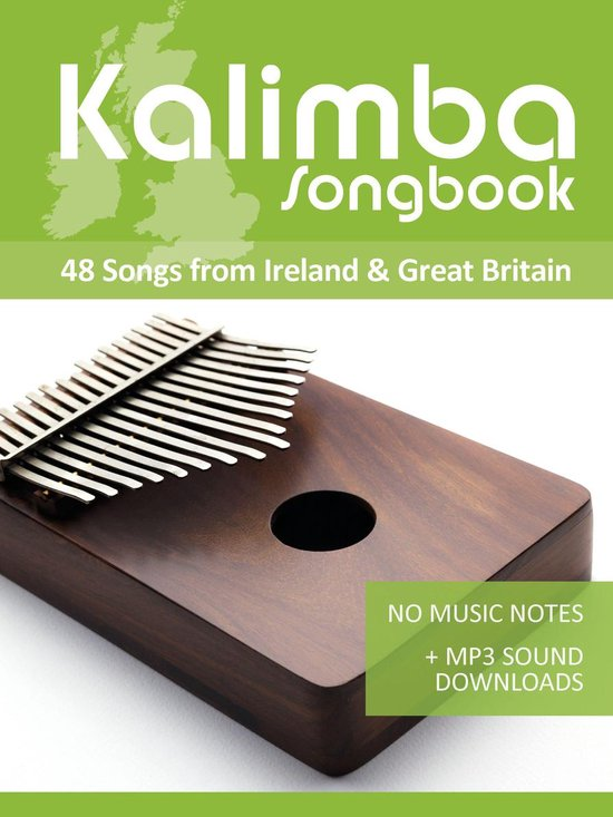 Boek cover Kalimba 10/17 Songbook - 48 Songs from Ireland & Great Britain van Reynhard Boegl (Onbekend)