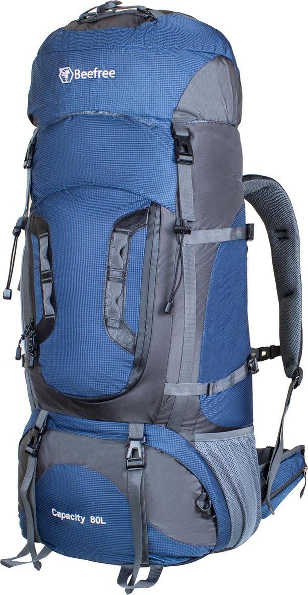 Beefree Backpack - Rugzak - 80 Liter - Nylon - Blauw