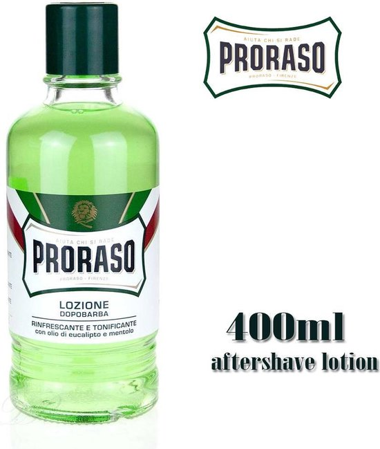Proraso - Green - Aftershave Lotion - 400 ml - Proraso