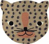OYOY - Vloerkleed Leopard / Luipaard | Kinderkamer | Babykamer | Baby | Kinderen