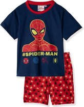 Pyjama Shortama Spider-Man maat 98