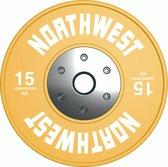 Northwest Premium Competitie Halterschijf | 15 KG