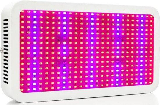 Hydrotec LED Kweeklamp 600 Watt - Full Spectrum LED Groeilamp en Bloeilamp in 1