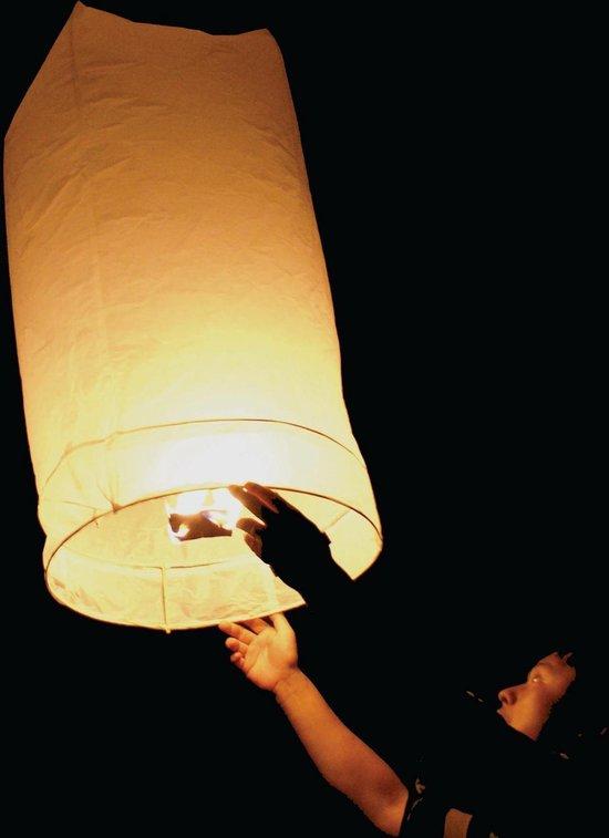 Wensballon XL Wit 1 meter