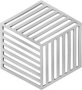 Krumble Pannenonderzetter Hexagon / Pan onderzetter / Pannen onderzetter / Siliconen / Hittebestendig - Grijs