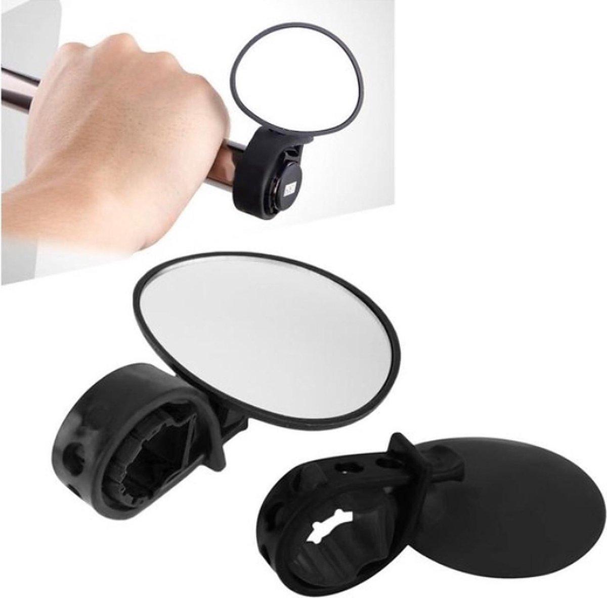 Fietsspiegel - Achteruitkijkspiegel voor fietsen   Mountainbike Spiegel - universeel formaat