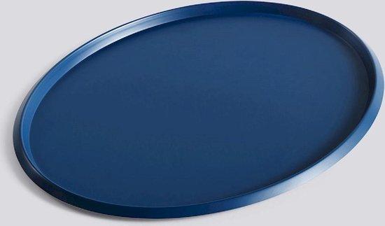 HAY Ellipse Tray Serveerschaal L Donkerblauw L39.5 X W31 X H1.5