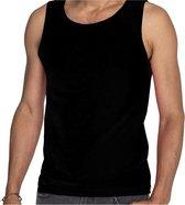 Zwarte tanktop / hemdje voor heren - Fruit of The Loom - katoen - mouwloos t-shirt / tanktops / singlet M