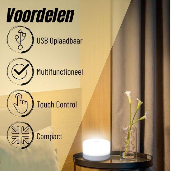 MINQY® Nachtlampje Kinderen Touch lamp + E-Book - LED Verlichting - Smart Lamp - Sfeerlamp Kinderkamer