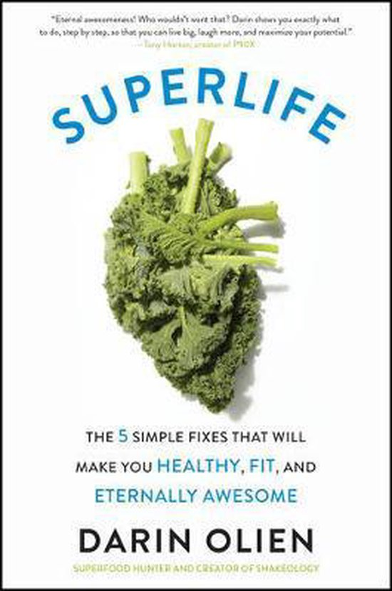 Boek cover SuperLife van Darin Olien (Paperback)