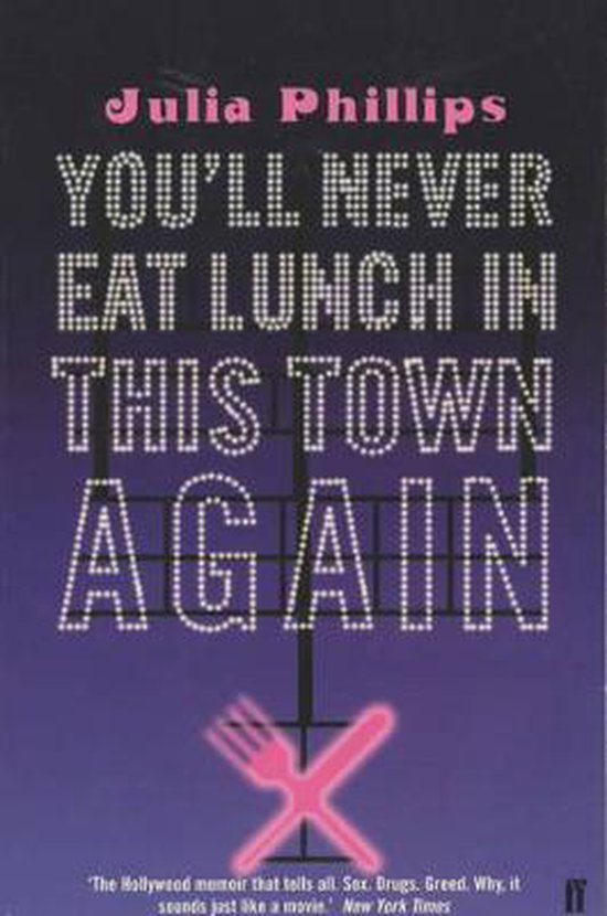 Omslag van You'll Never Eat Lunch in this Town Again