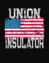 Union Insulator: College Ruled Composition Notebook