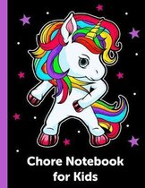 Chore Notebook for Kids: Childrens Responsibility Checklist