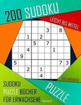 200 Sudoku Leicht Bis Mittel: Leicht Bis Mittel Sudoku Puzzle B�cher f�r Erwachsene mit L�sung