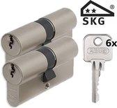 Abus E60 SKG2 - cilindersloten - 2 stuks gelijksluitend - 30/30