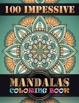 100 Impessive Mandalas Coloring Book