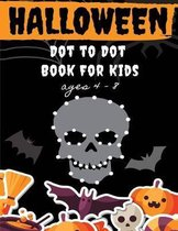 Halloween Dot to Dot Book for Kids Ages 4-8