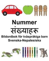 Svenska-Nepalesiska Nummer/संख्याहरू Bildordbok foer tvasprakiga barn