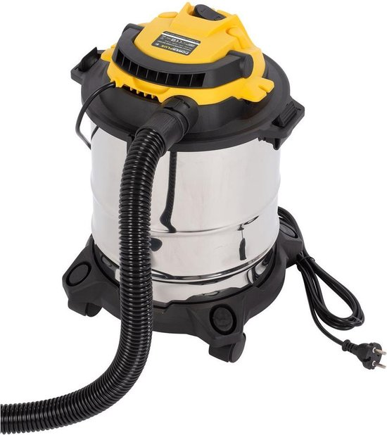 POWX322 - Nat- en droogzuiger - 1000W - 15L