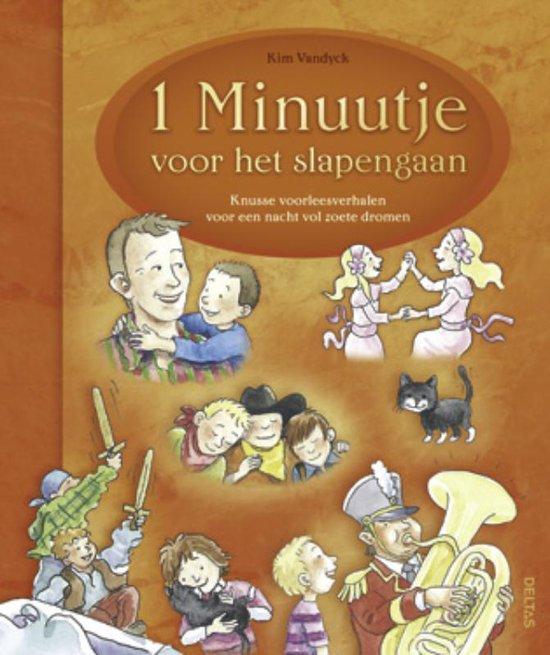 Cover van het boek '1 minuutje voor het slapengaan' van Kim Vandyck