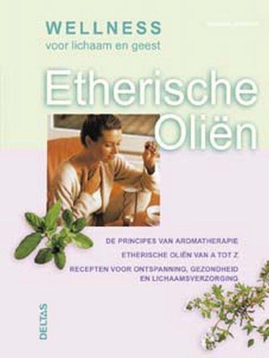 Cover van het boek 'Etherische olien'