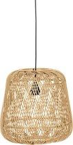 WOOOD Moza Hanglamp - Bamboe - Naturel - 36x36x36