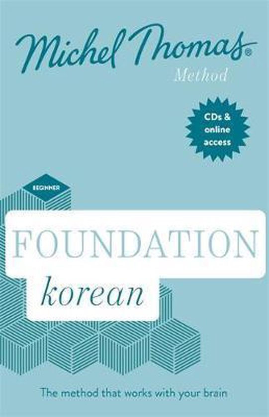 Boek cover Foundation Korean (Learn Korean with the Michel Thomas Method) van Jieun Kiaer (Onbekend)