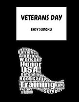 Veterans Day Navy: 100 Easy Puzzles In Large Print Veterans Day