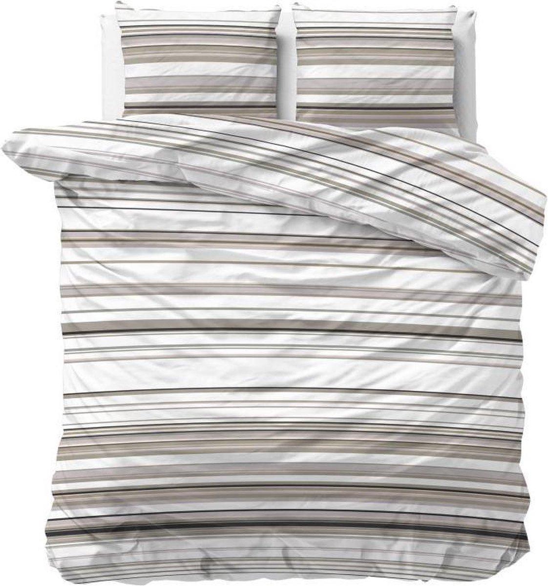 Sleeptime Benny - Dekbedovertrekset - Lits-Jumeaux - 240x200/220 + 2 kussenslopen 60x70 - Taupe