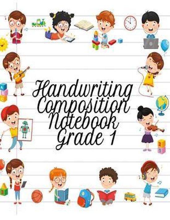 Handwriting Composition Notebook Grade 1