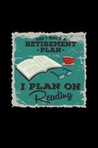 Retirement plan on reading