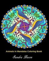 Animals In Mandalas Coloring Book