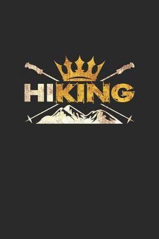 Hiking: 6x9 Hiking - dotgrid - dot grid paper - notebook - notes