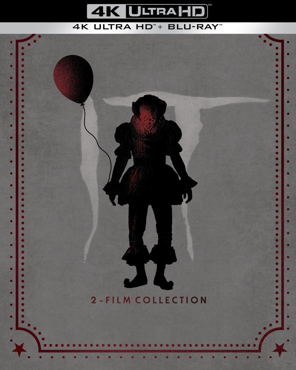 It Chapter 1 & 2 - Collector's Edition (Steelbook) (4K Ultra HD Blu-ray)-