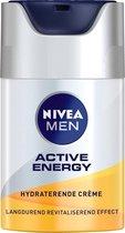 NIVEA MEN Active Energy Hydraterende Dagcrème - 50 ml